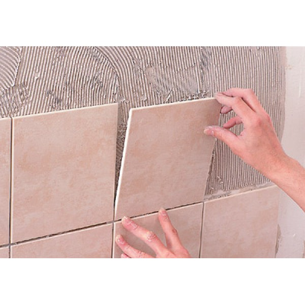 Облицовка стены плиткой своими руками